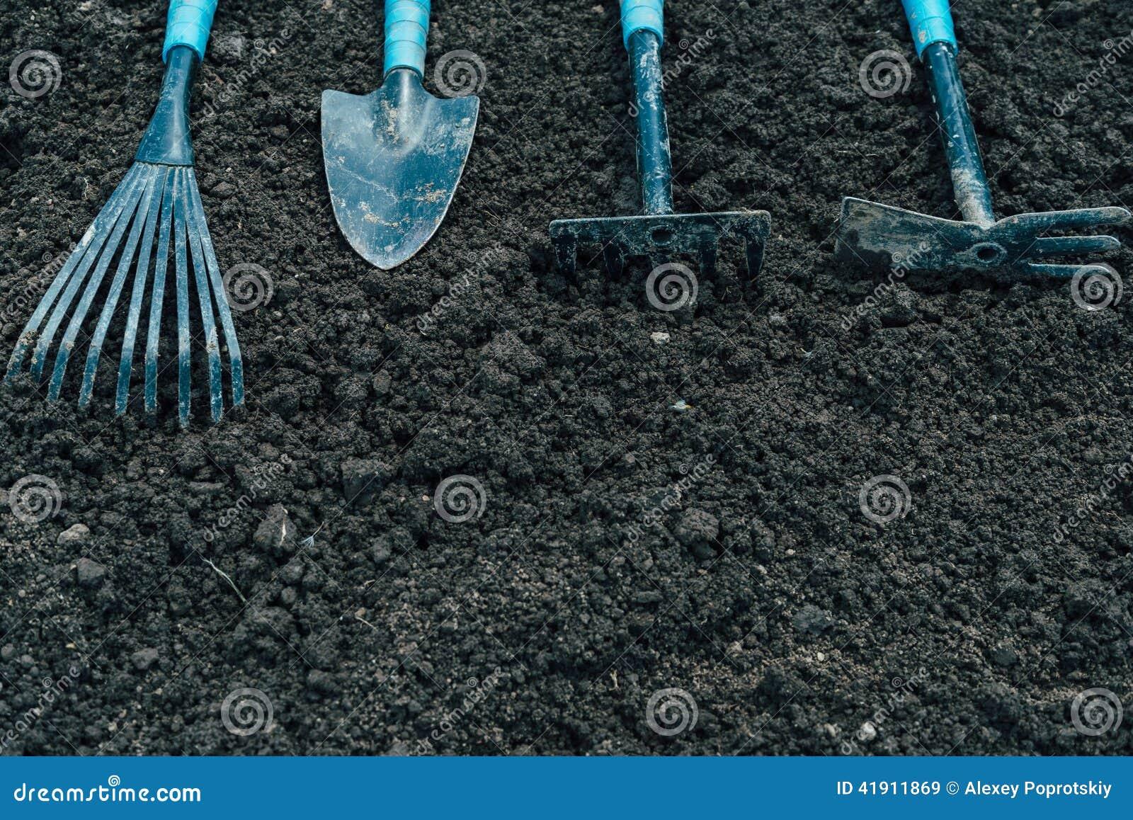 Herramientas para cultivar un huerto