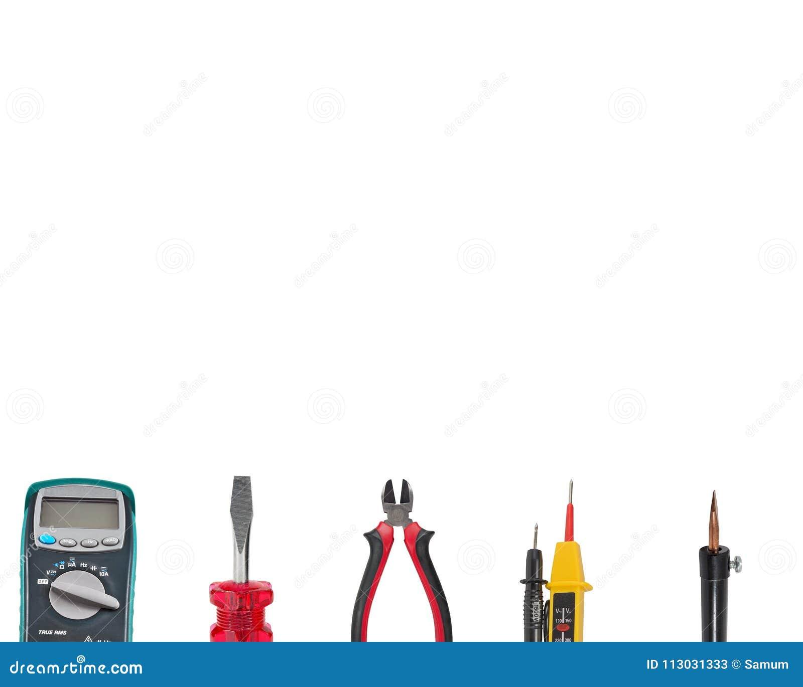Herramientas a utilizar en instalaciones eléctricas en blanco