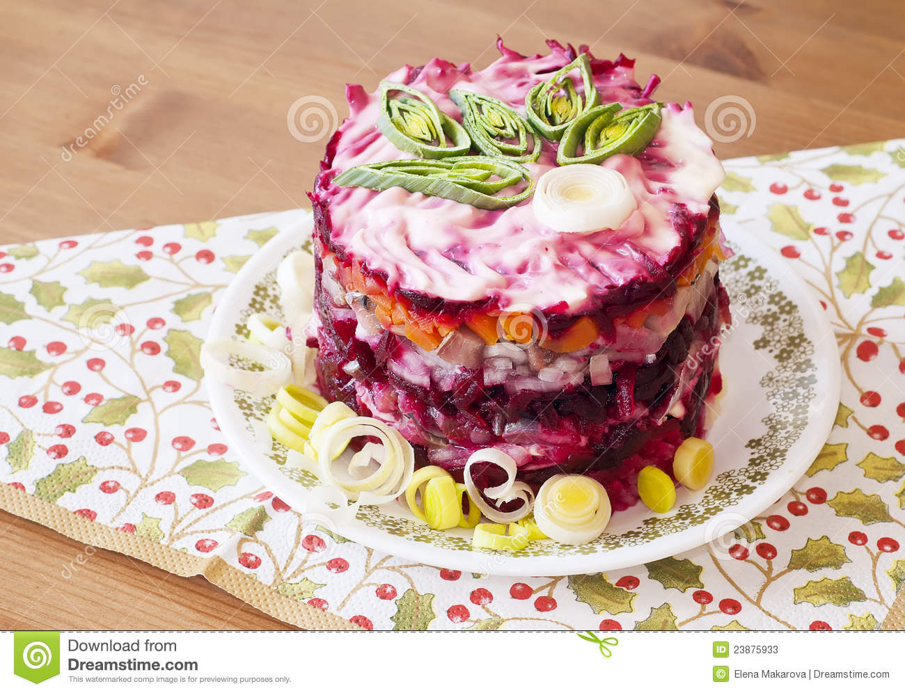 Herring salad #2