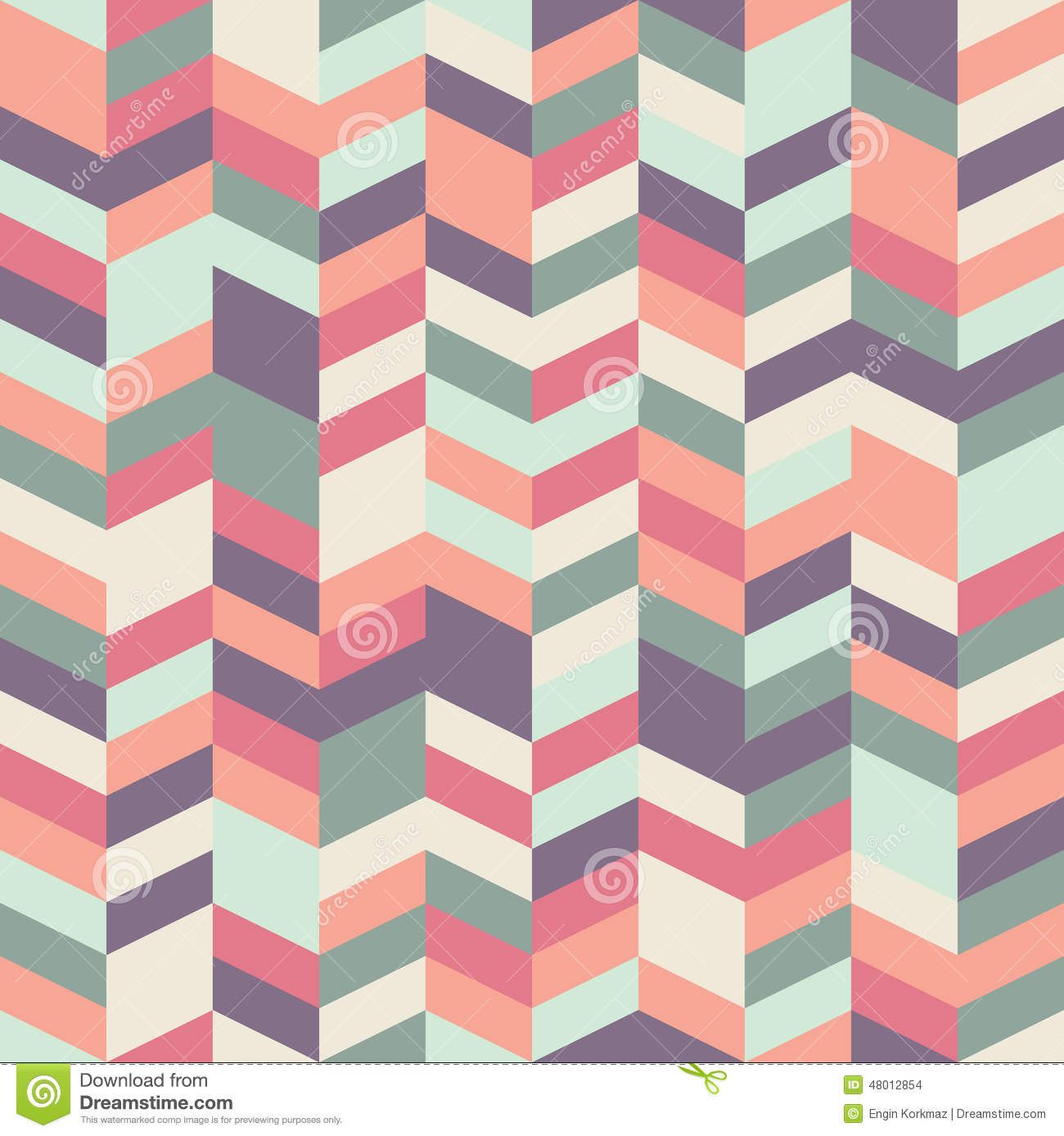 Herringbone Pattern Stock Vector Image Of Pastel Pale