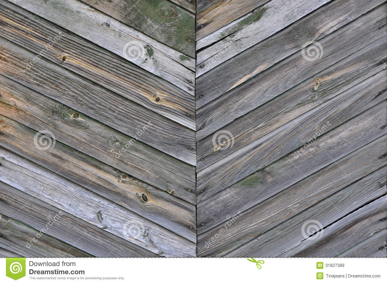 Herringbone Pattern Of The Wooden Planks Stock Image Image Of