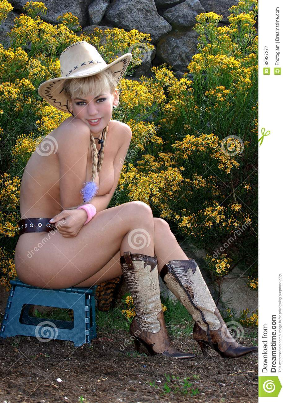 Cow girl nackt