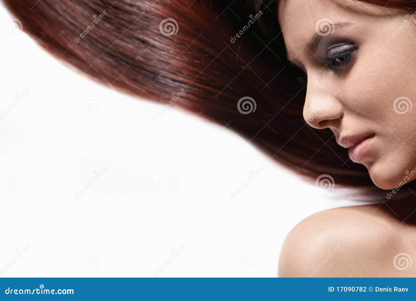 Herrliches langes Haar