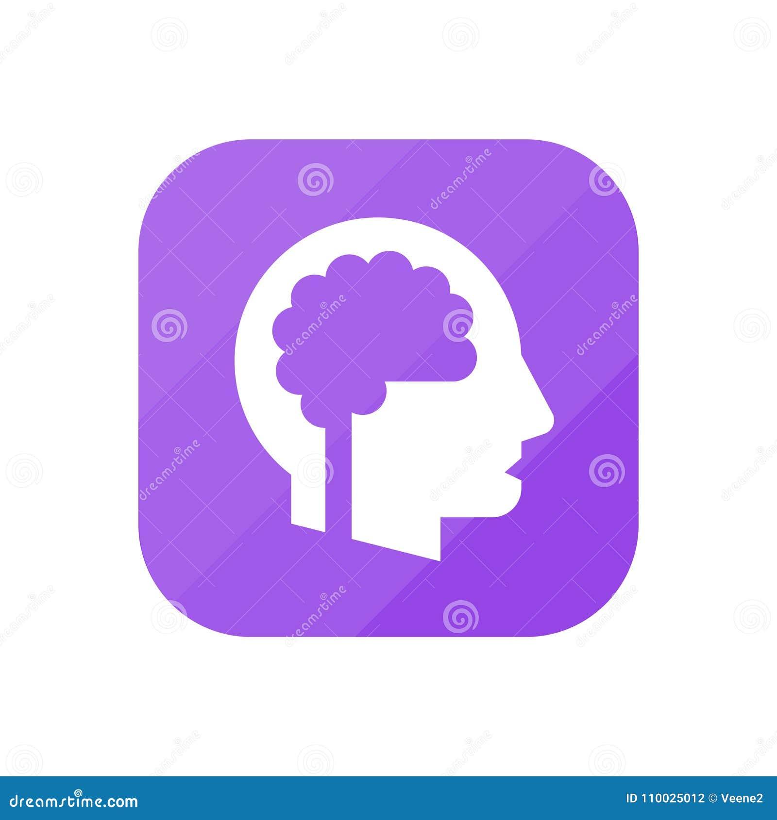 Hersenen - App Pictogram