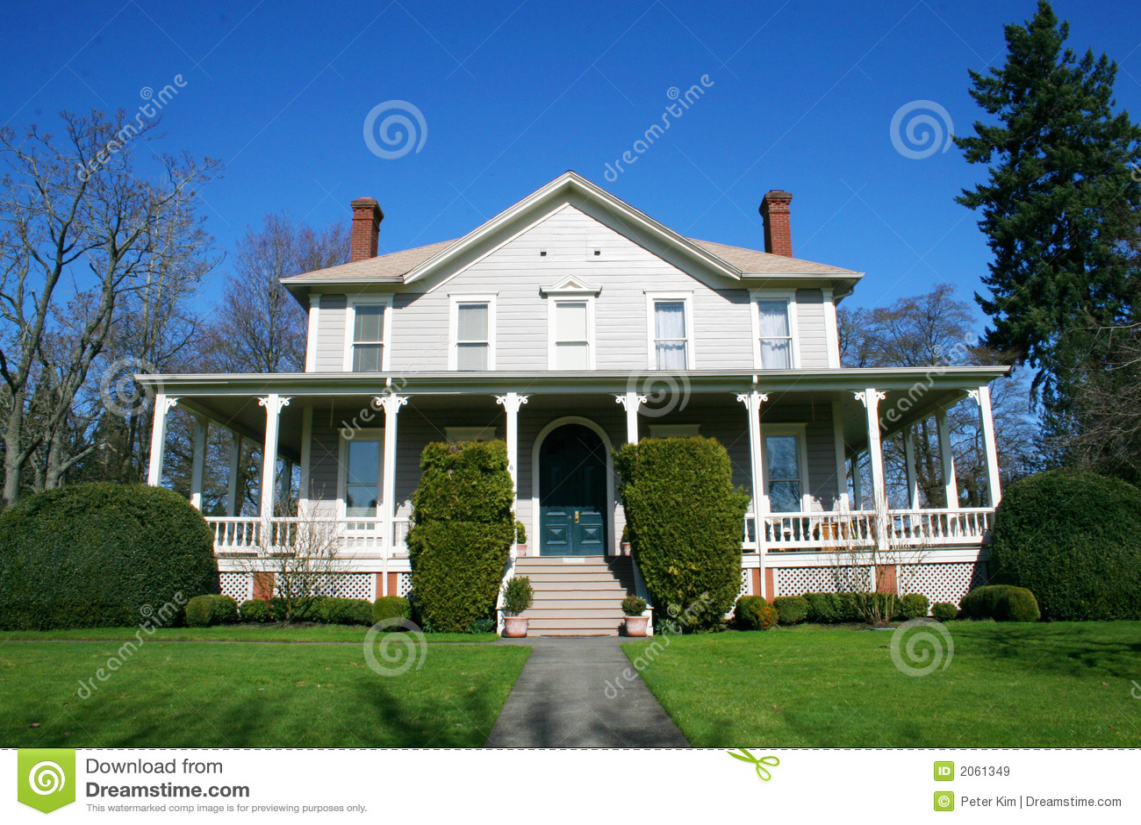 Hersteld oud huis.