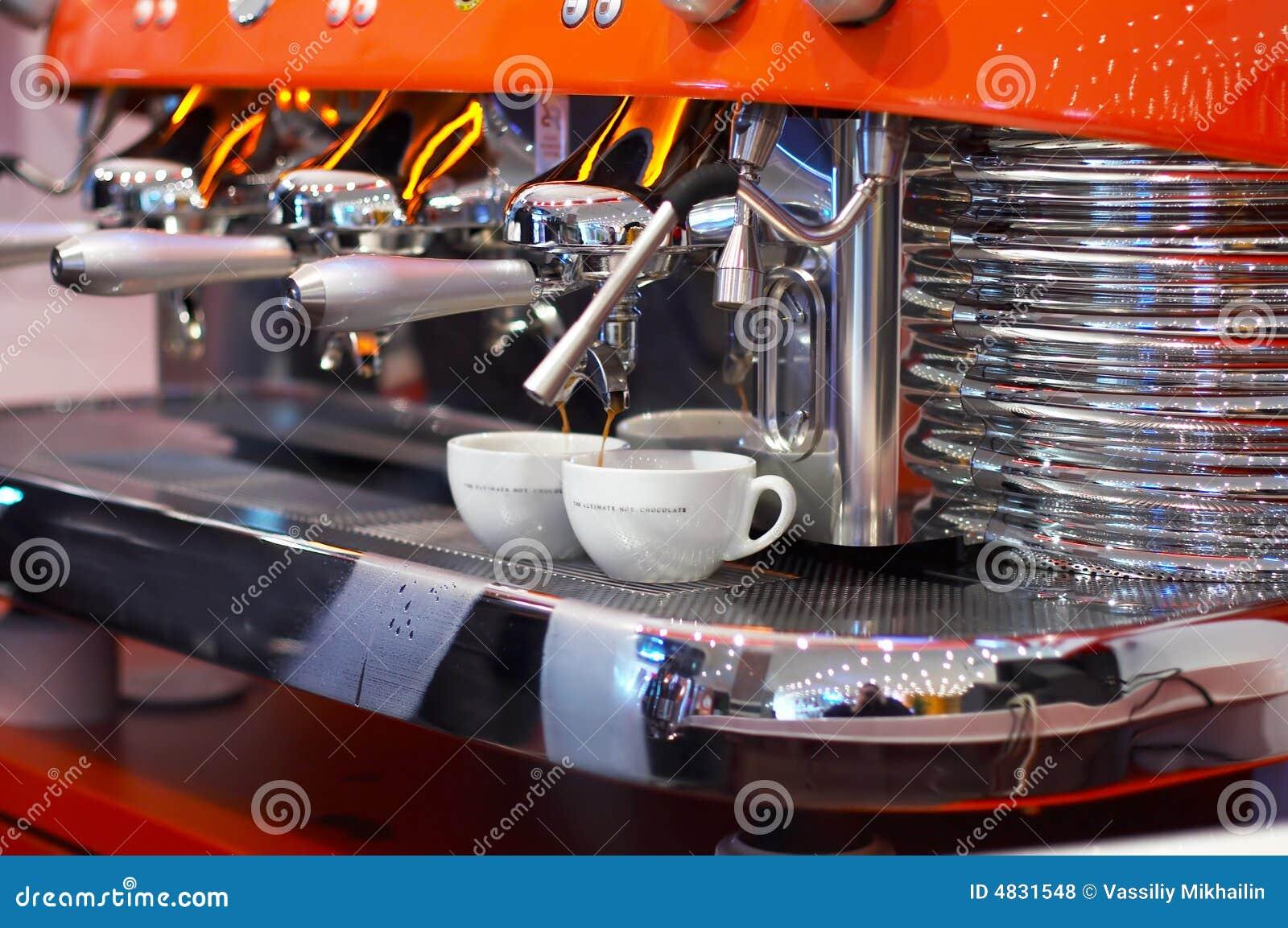 Herstellung des Kaffees