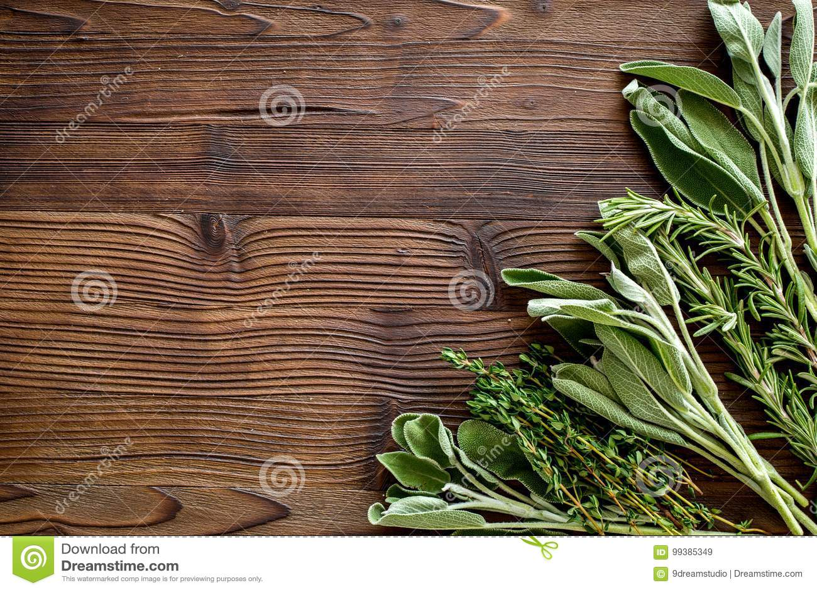 Herstellung Gewürze Mit Frischen Kräutern Und Dem Grün Für Das