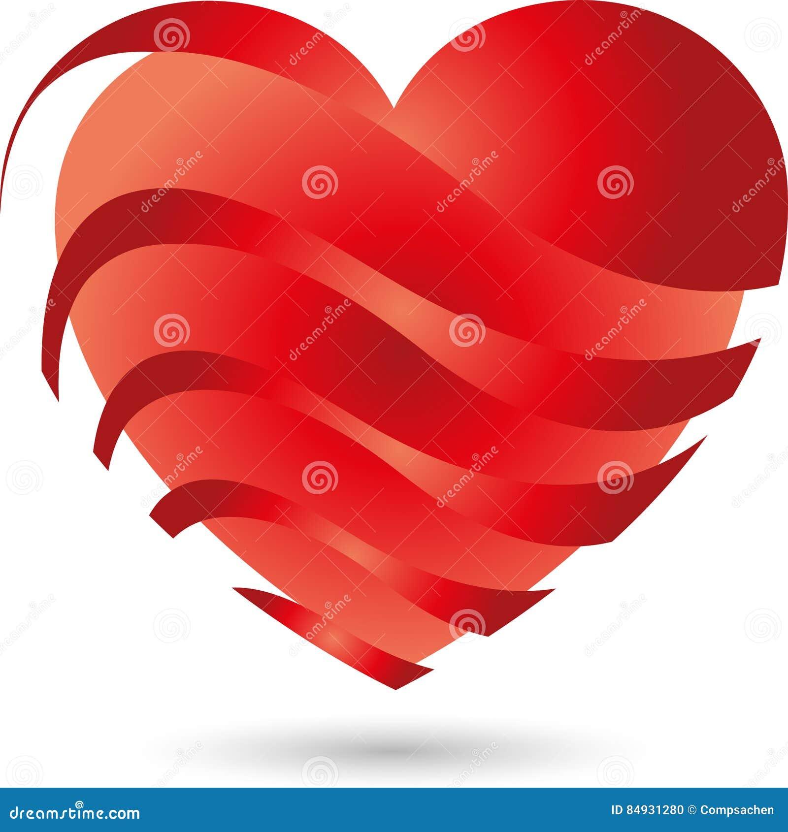 Herz, Glühendes Herz, Licht Vektor Abbildung - Illustration von ...