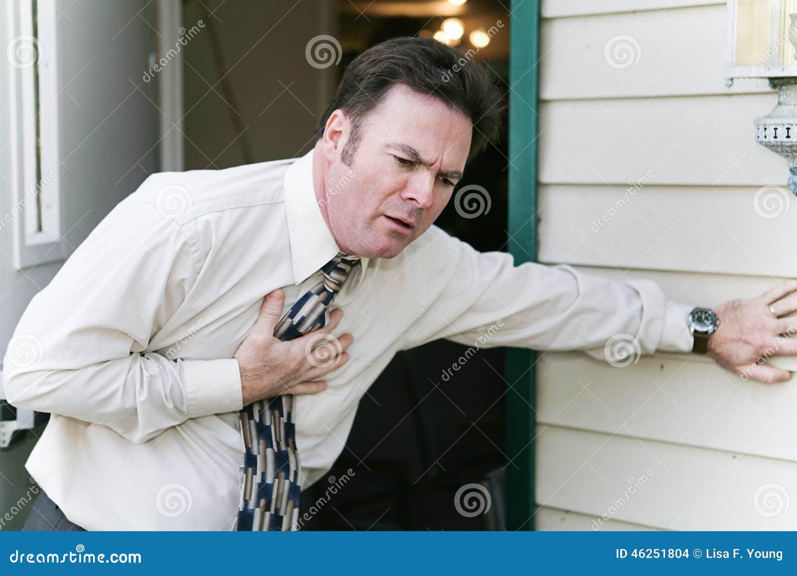 Herz-Problem oder Krankheit