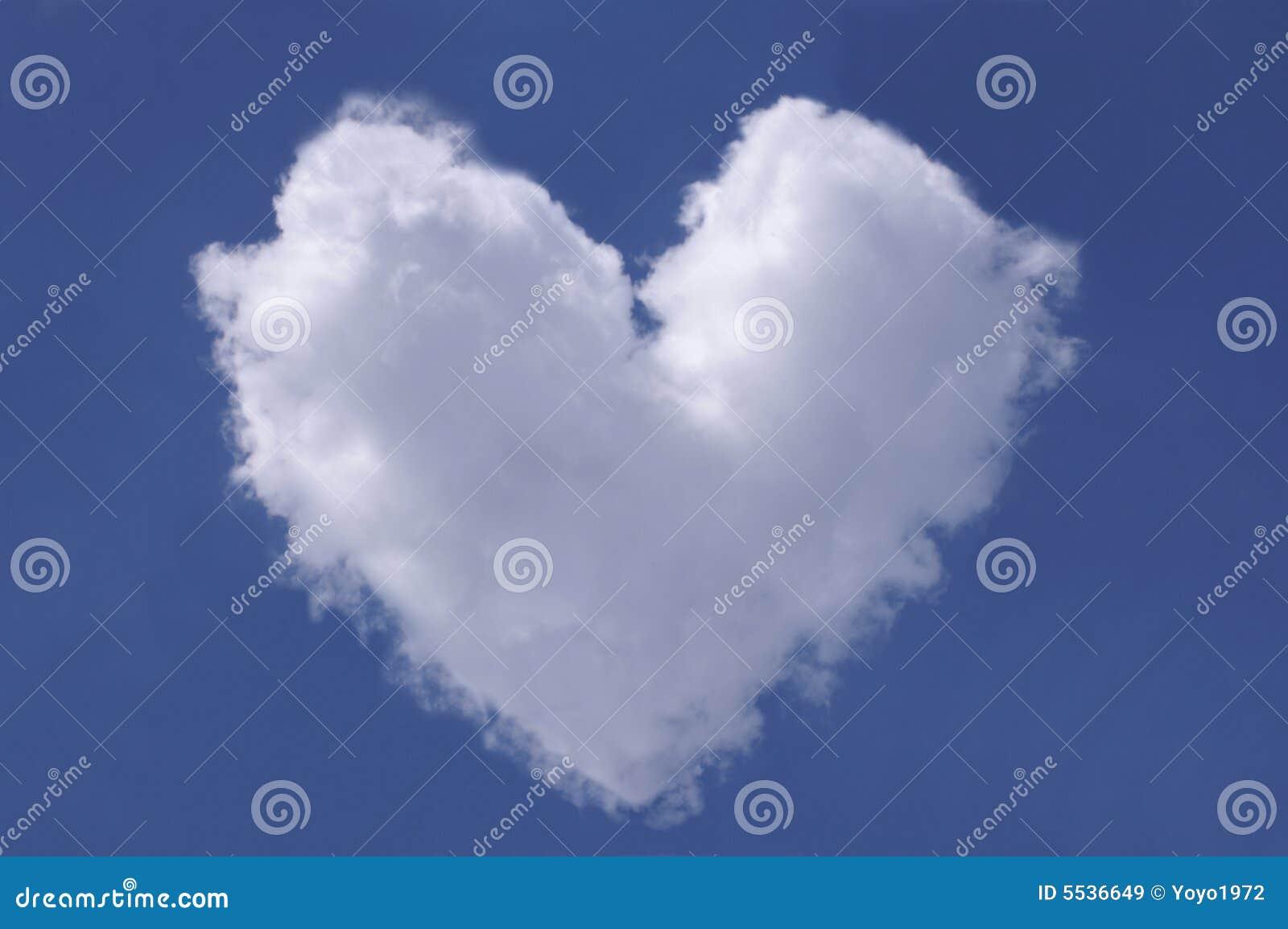 Herz Von Den Wolken Bild. Bild: 5536649
