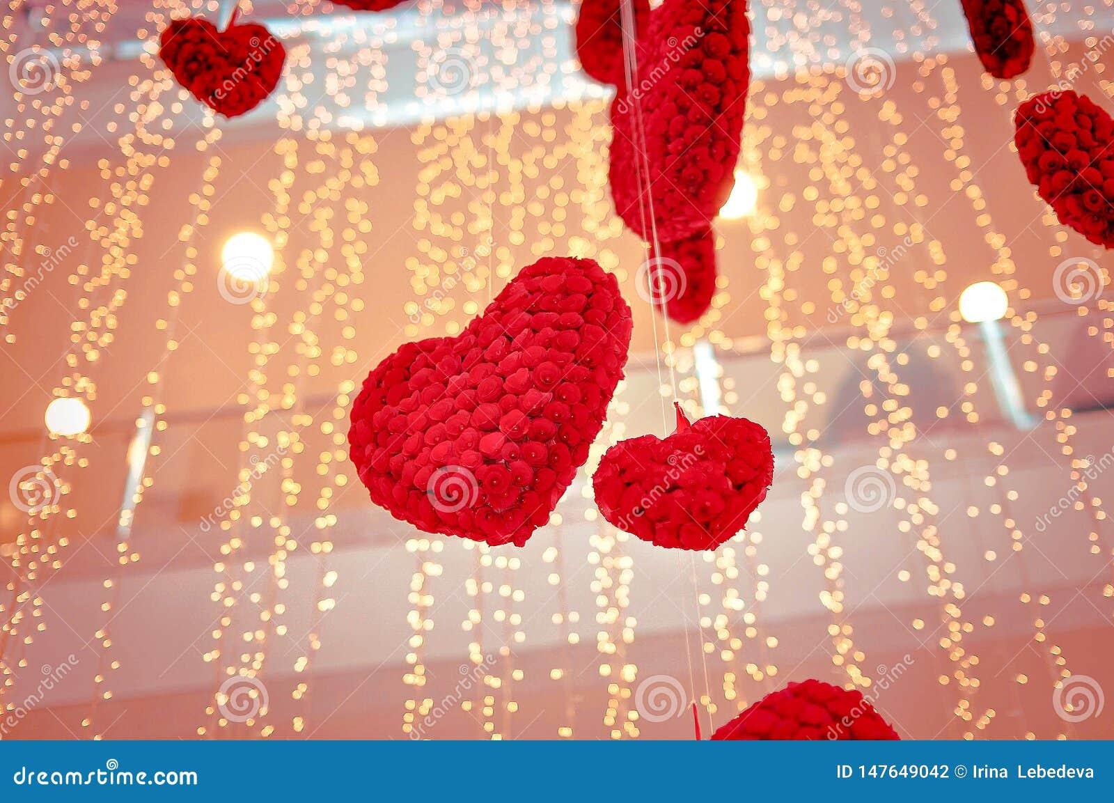 Herzen an Valentinsgru? ` s Tag