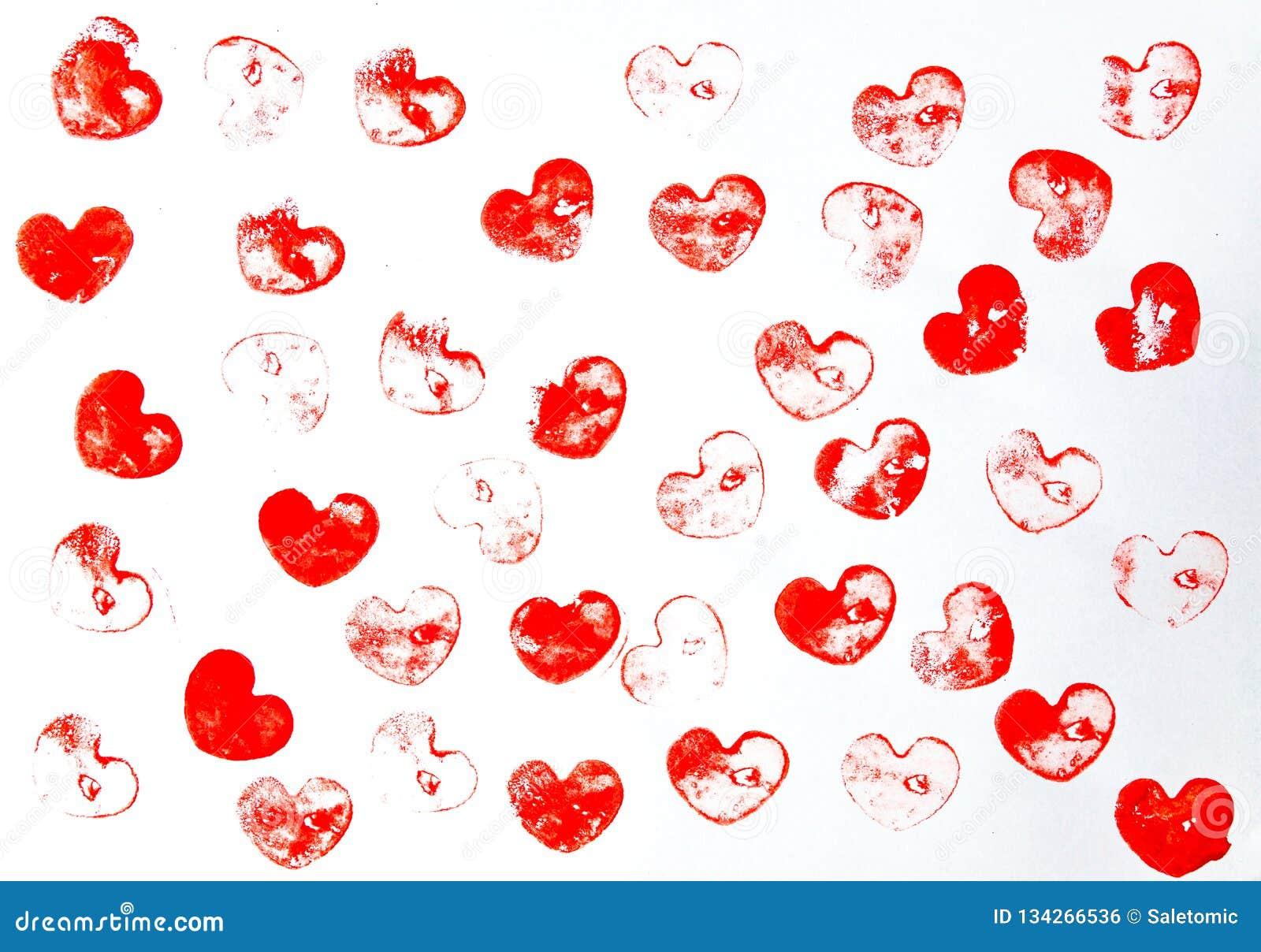 Herzform-Hintergrundmuster