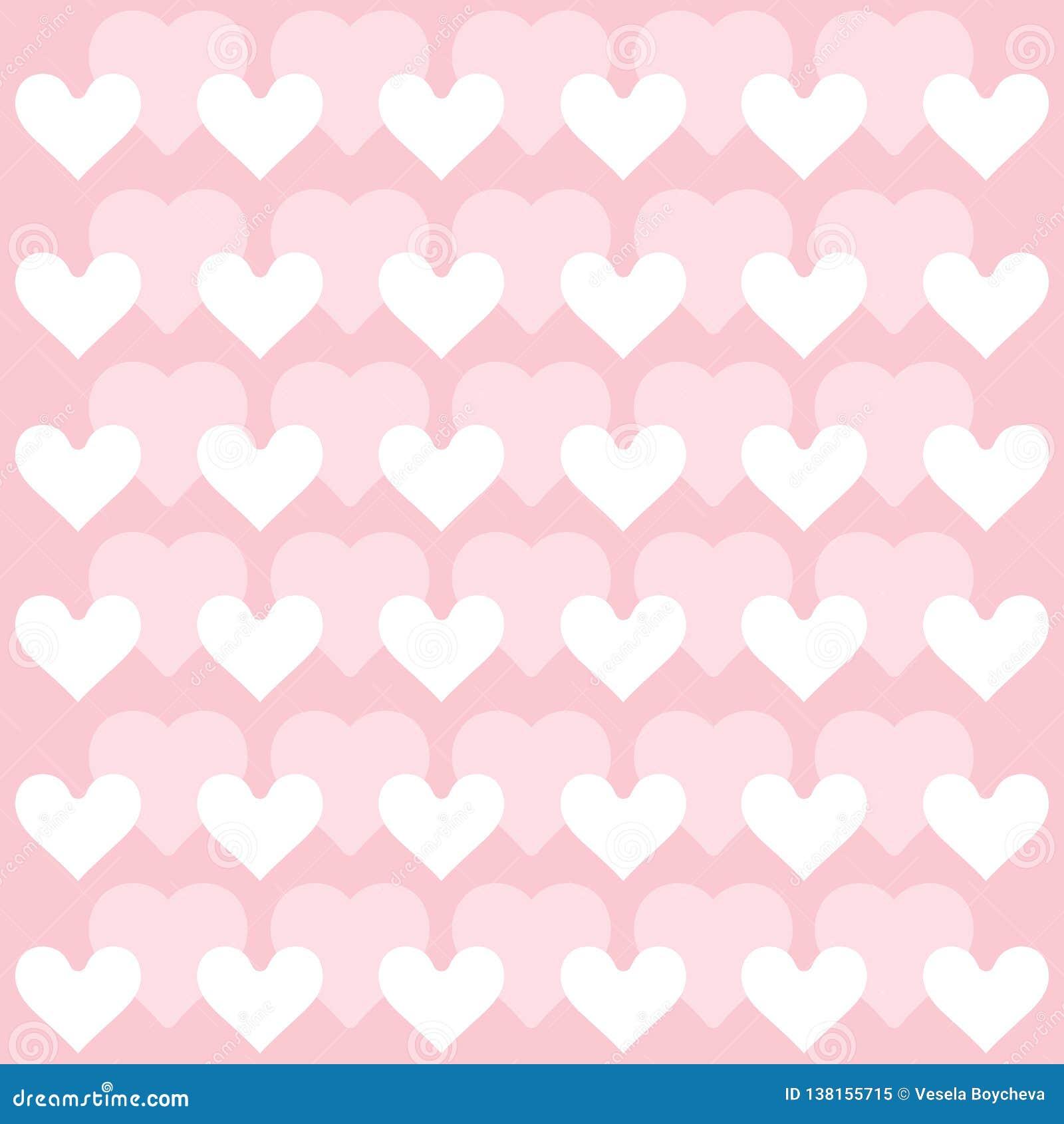 Herzhintergrund - Mustervektor - Herzen - St.-Valentinsgruß - Herzen tapezieren