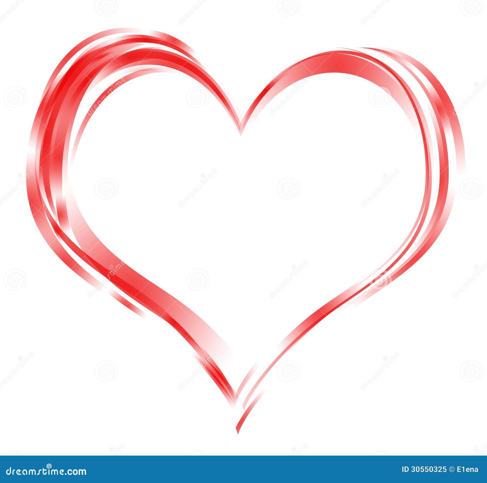 Herzrahmen stock abbildung. Illustration von hintergrund - 30550325