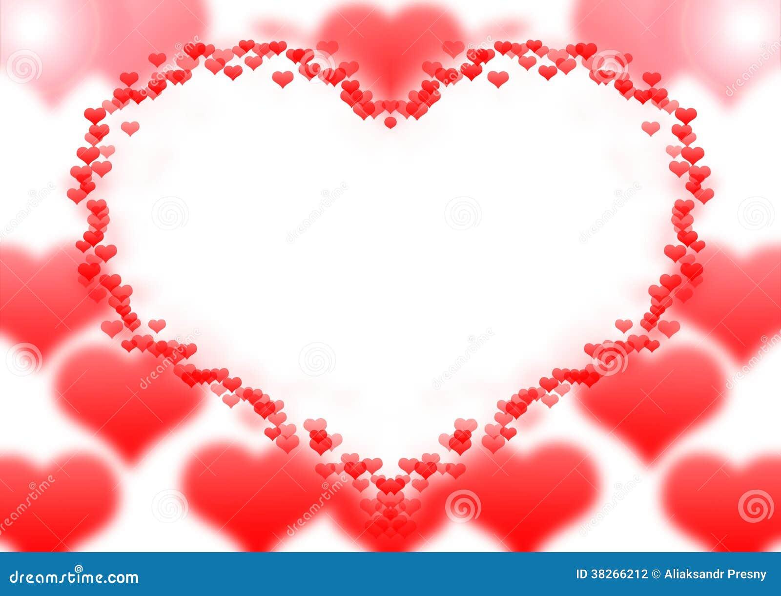 Herzrahmen stockfoto. Bild von bedeutung, inneres, liebe - 38266212