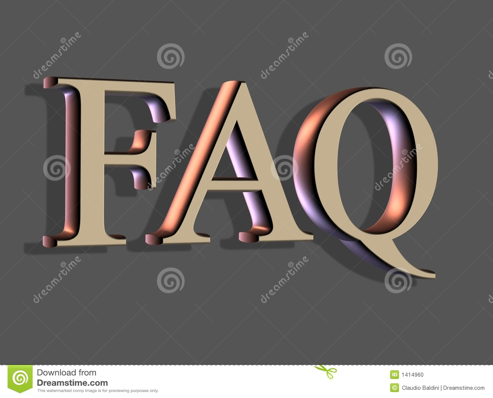 Het 3D Van letters voorzien: FAQ