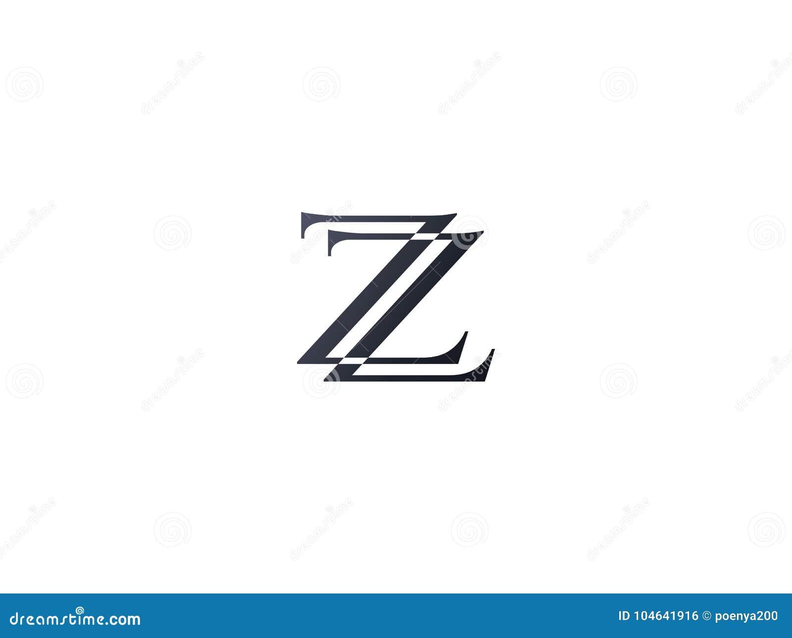 Download Het Aanvankelijke Malplaatje Van Het Brievenz Embleem Alfabetsymbool Voor Collectief Vector Illustratie - Illustratie bestaande uit lijn, creatief: 104641916