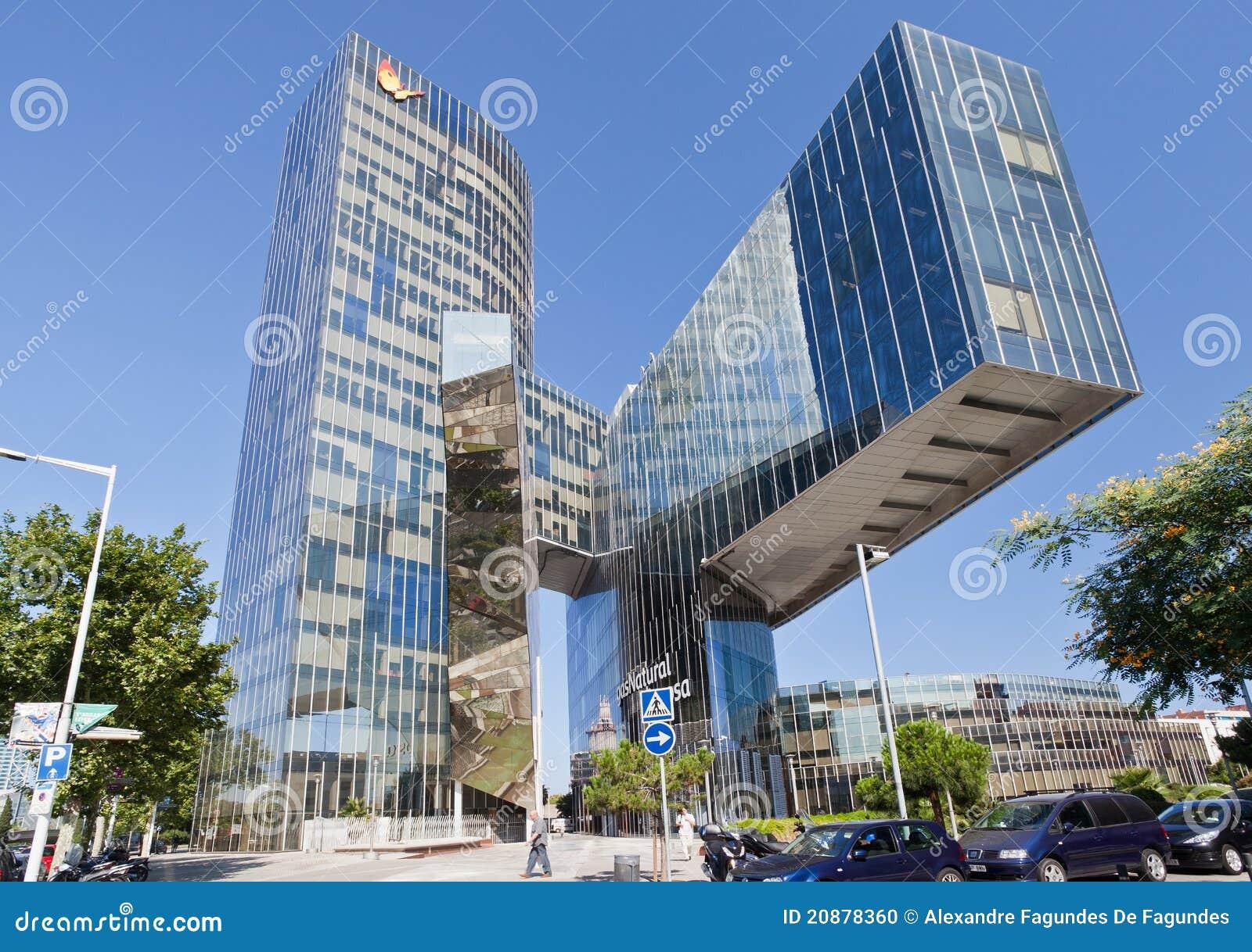 Het aardgas dat van miralles van enric barcelona bouwt for Architettura moderna barcellona