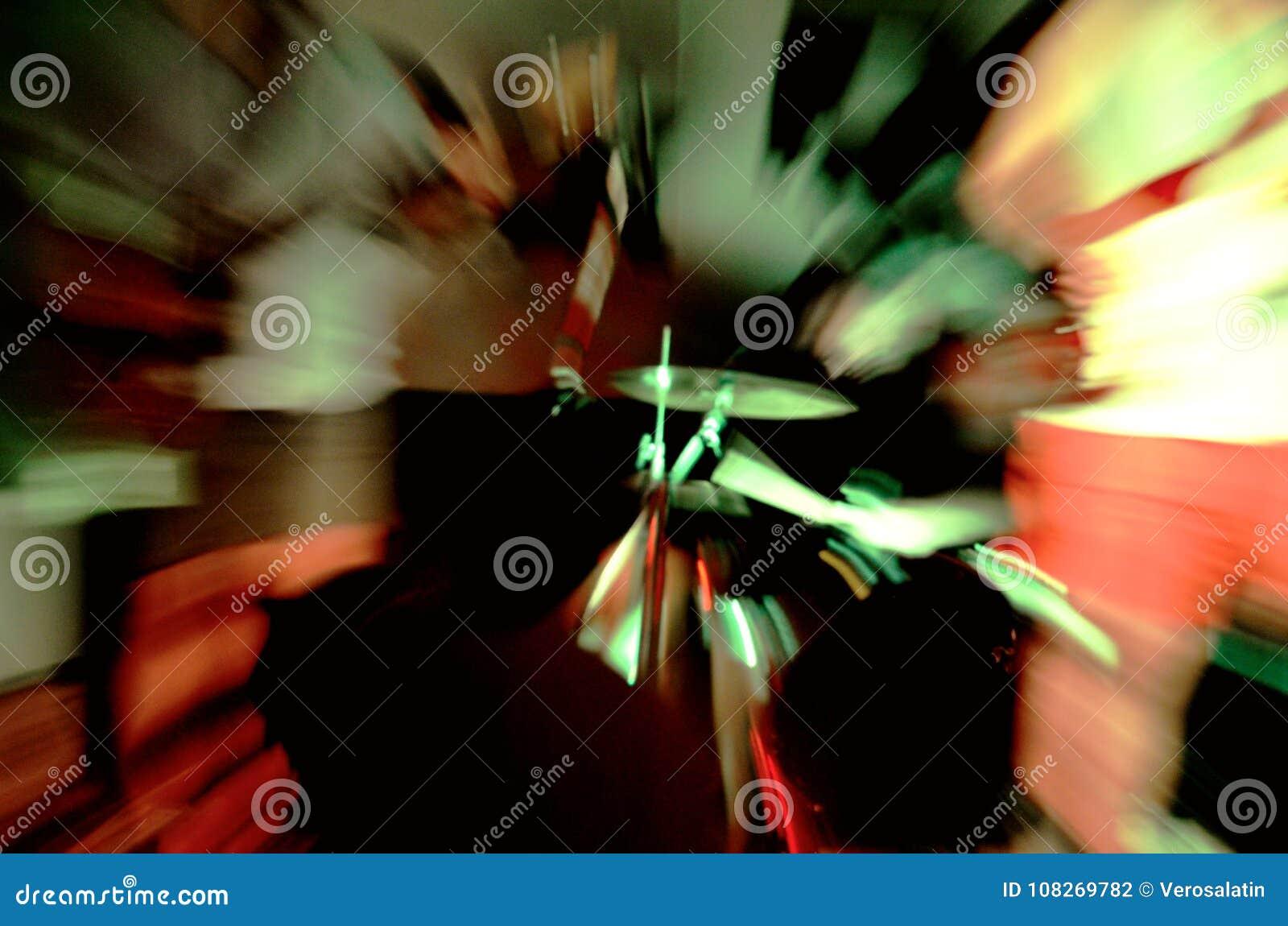 Het abstracte beeld van de machtsrots