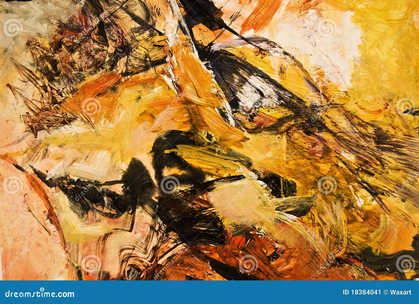 Animal Acrylic Painting