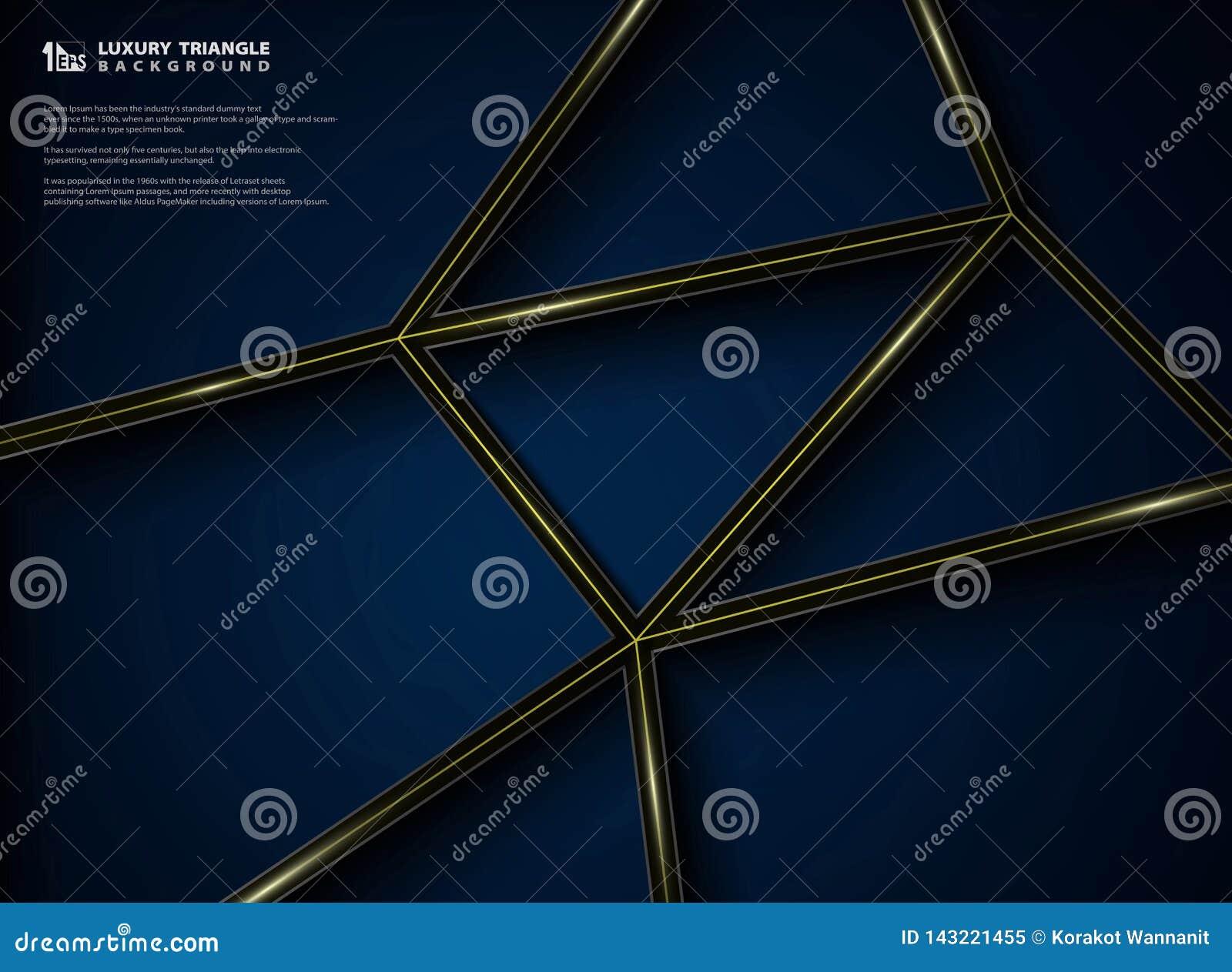 Het abstracte grafische ontwerp van het luxepatroon van gradiënt zwarte achtergrond