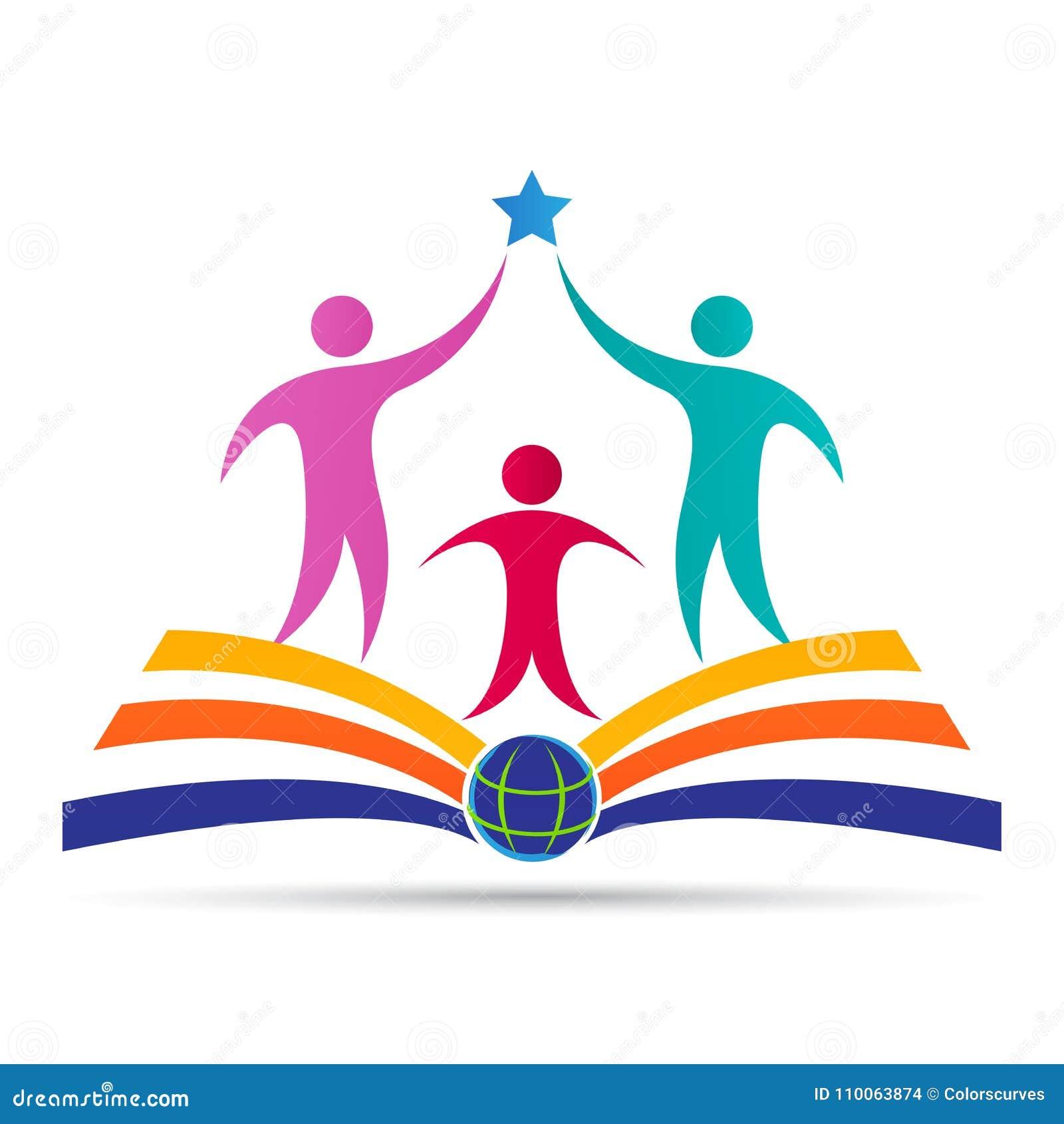 Het academische van de de schooluniversiteit van het onderwijsembleem ontwerp van het het succesembleem universitaire