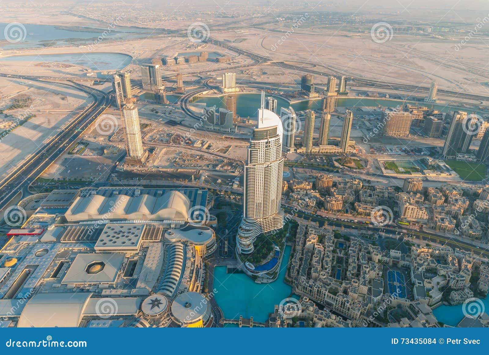 Het Adres Doubai Van de binnenstad