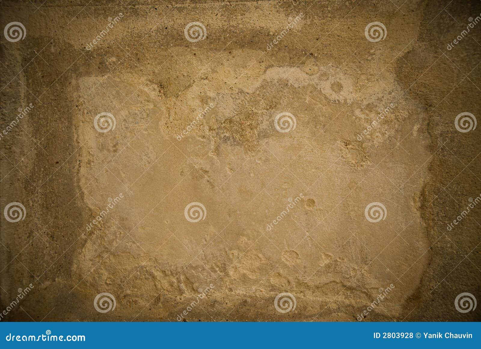 Het af:drukken van de muur