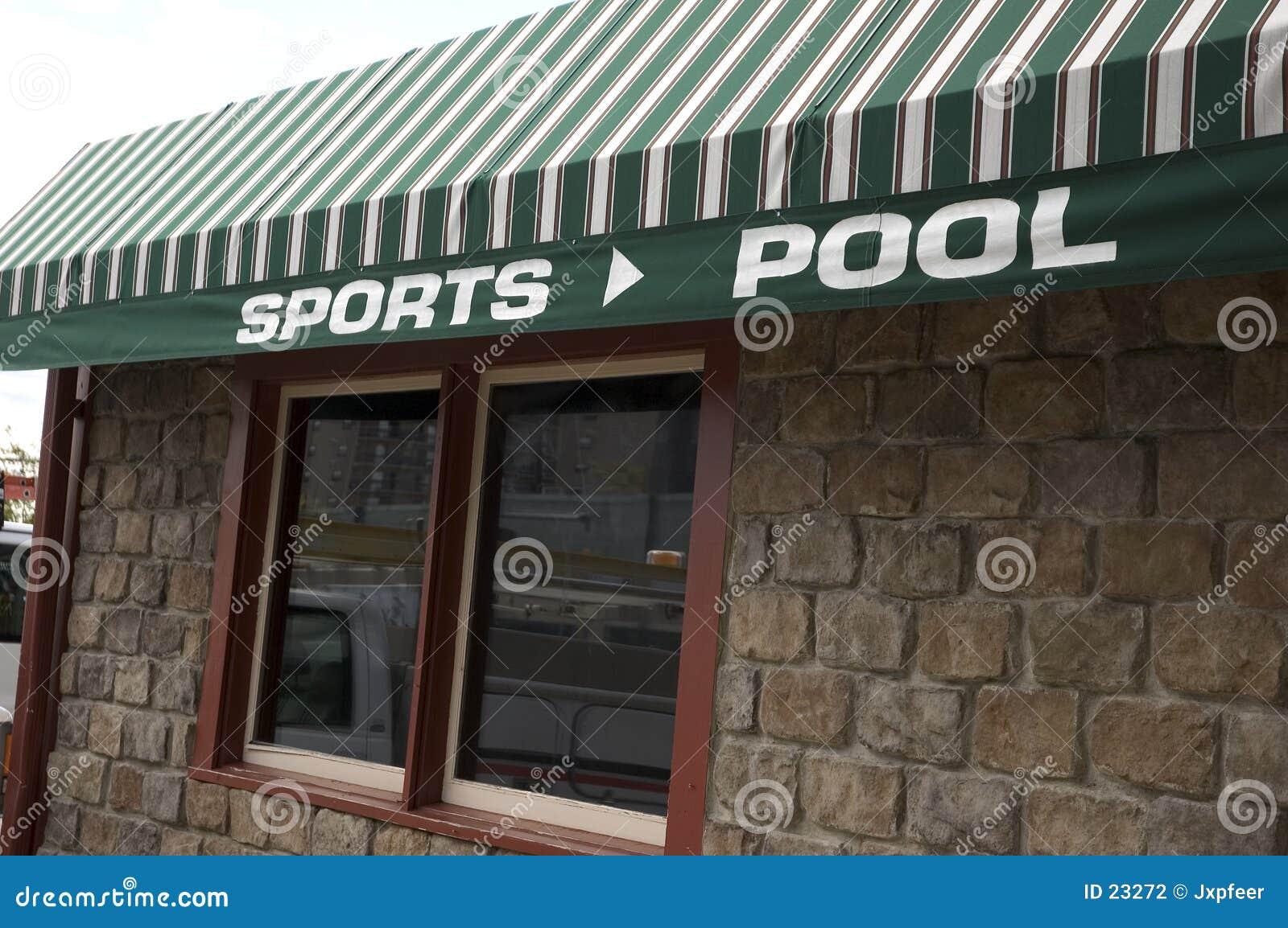 Het afbaarden - Sporten en Pool