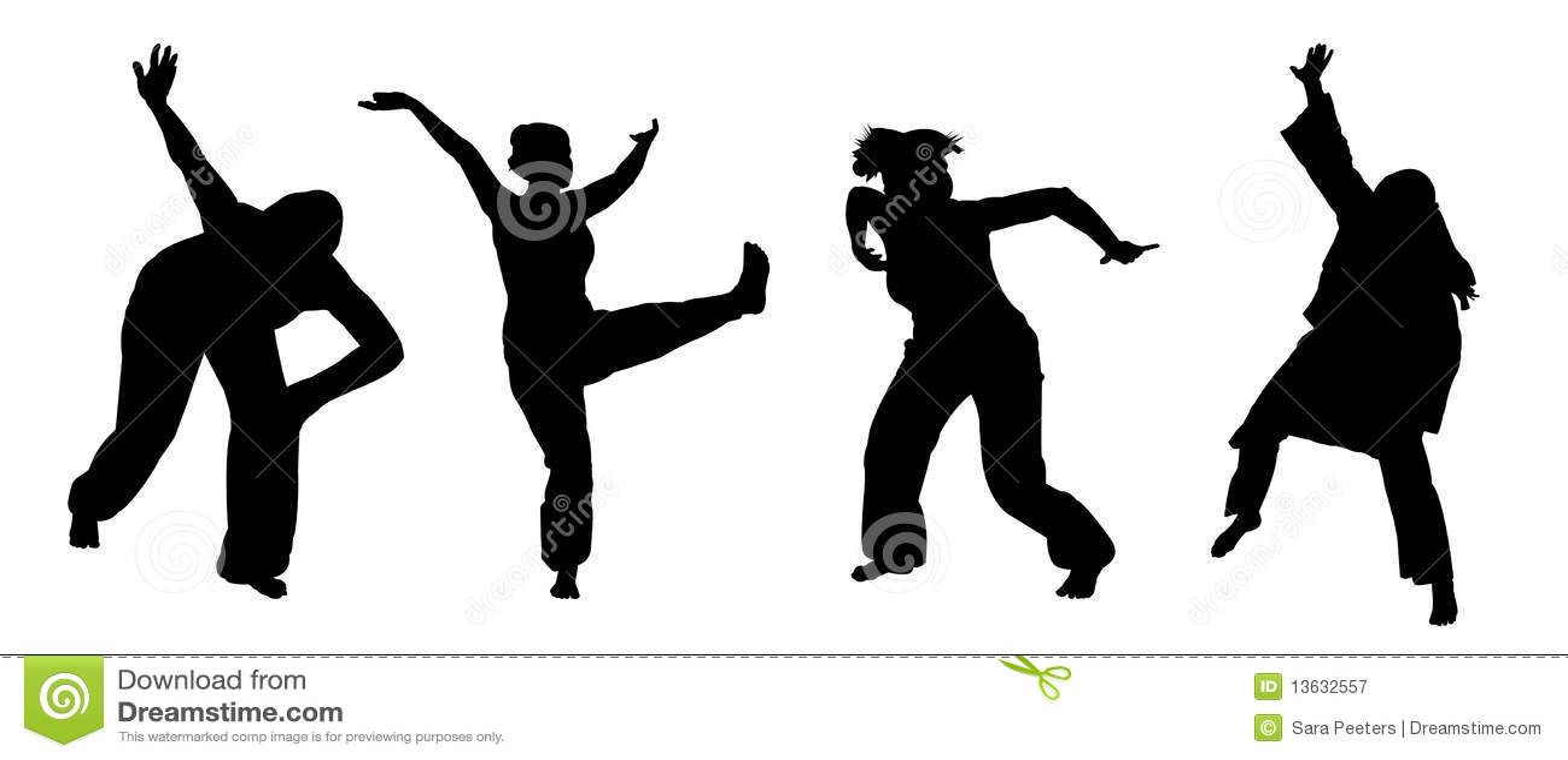Het Afrikaanse dansen
