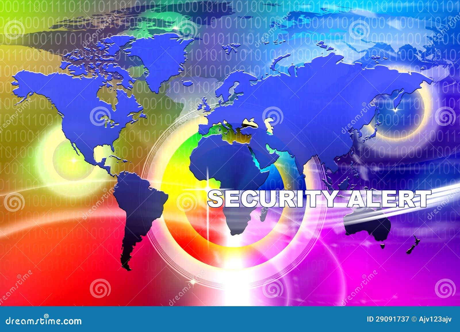 Het Alarm van de Veiligheid van de wereld