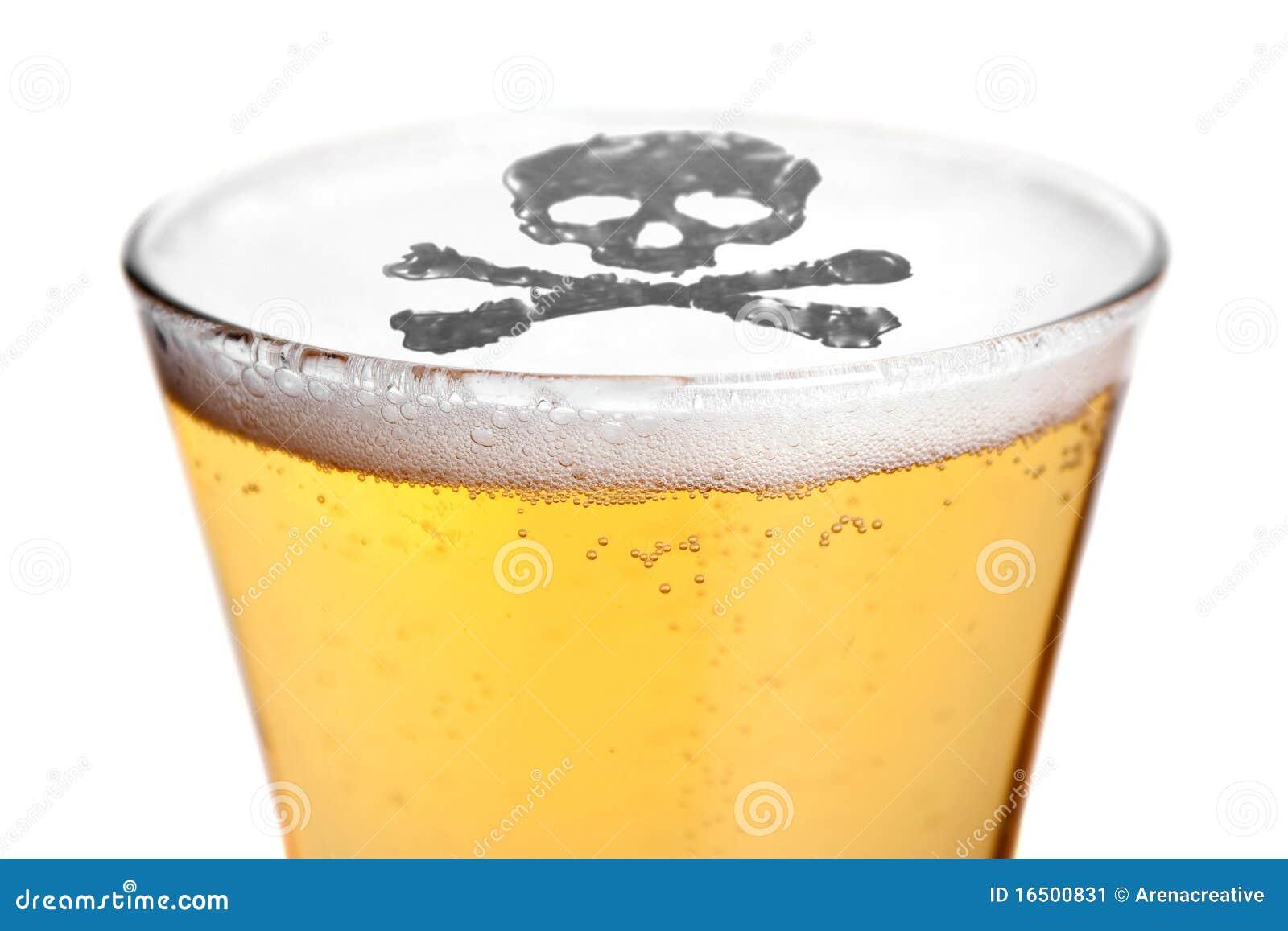 Het alcoholisme is Dodelijk