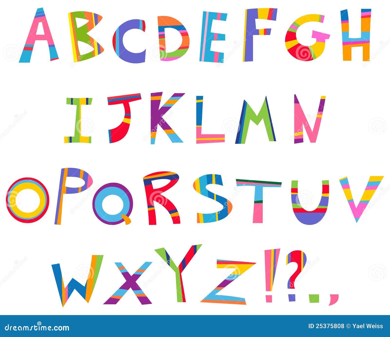 Het alfabet van de pret