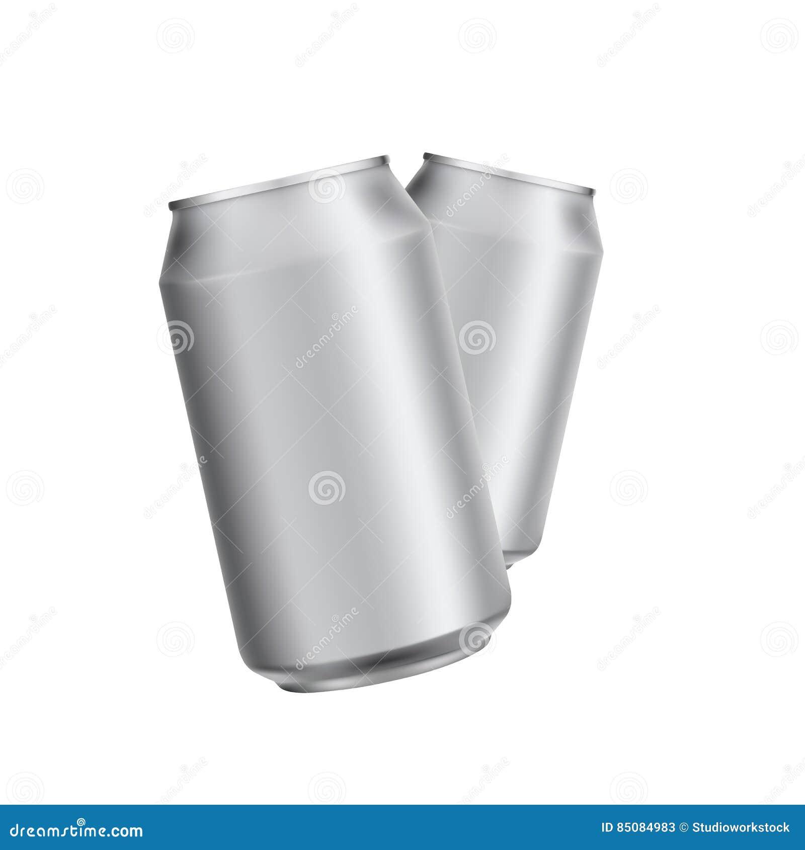 Het aluminium kan drinken soad of biermalplaatje