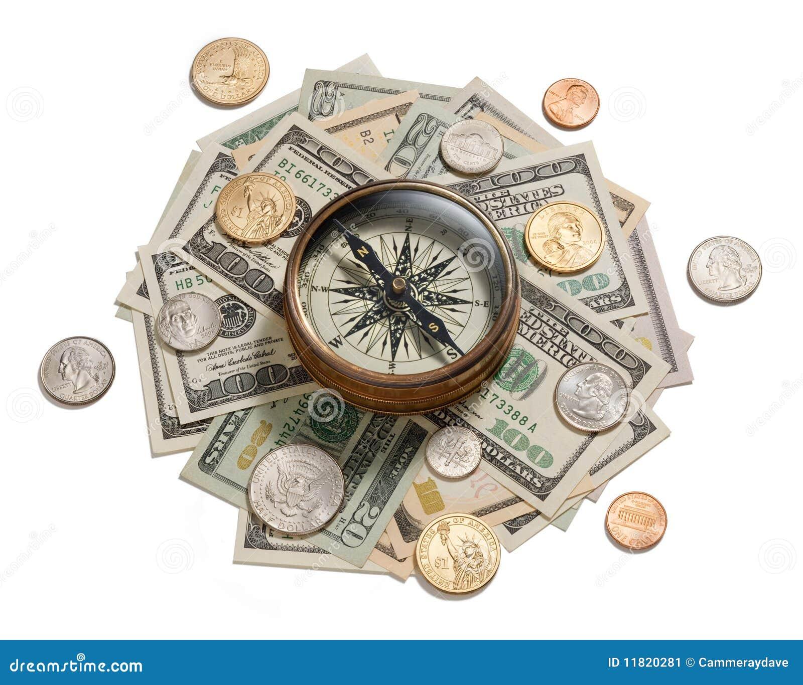 Het Amerikaanse Kompas van het Beheer van het Geld