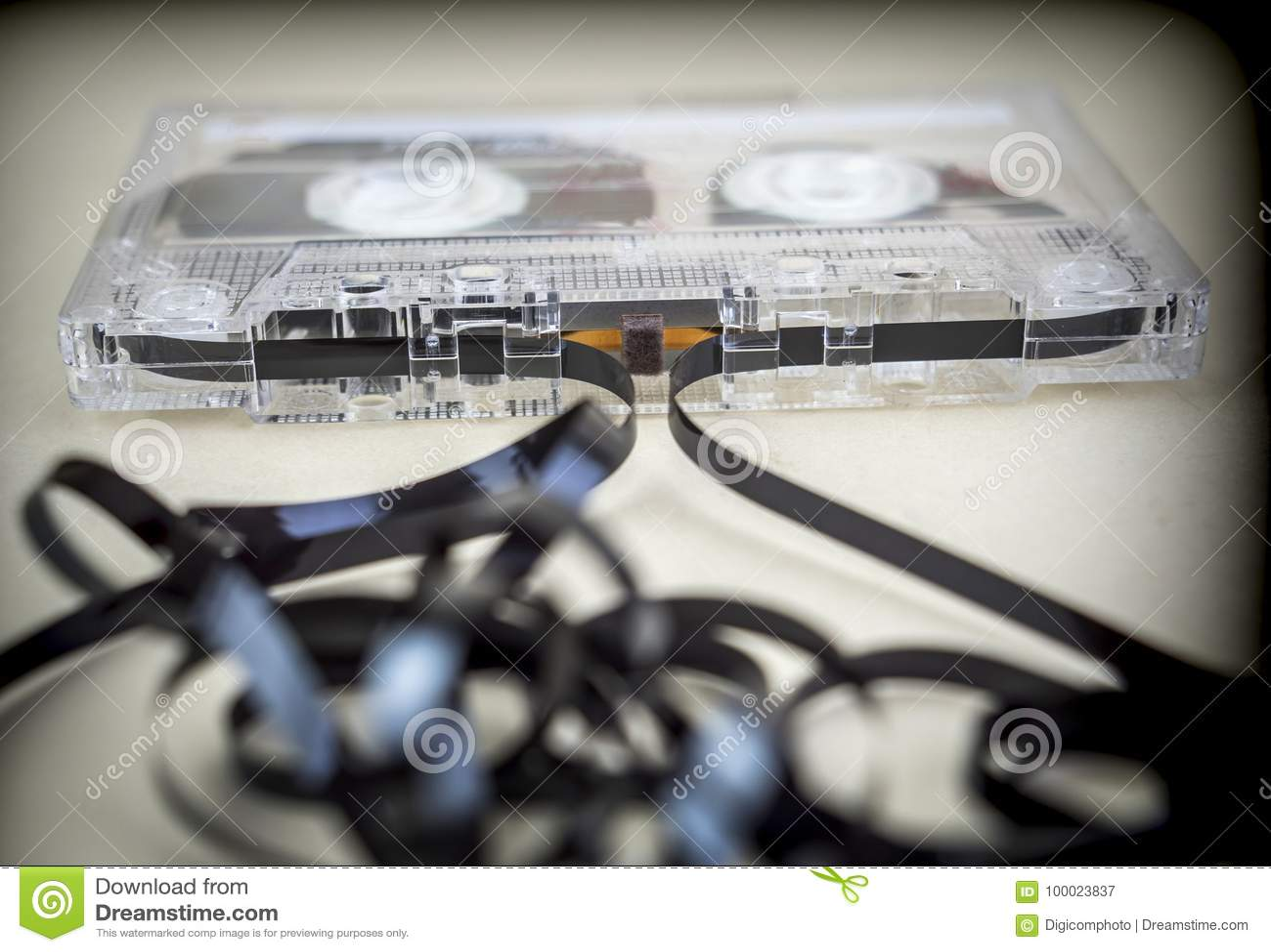 Het analogon van cassettebanden