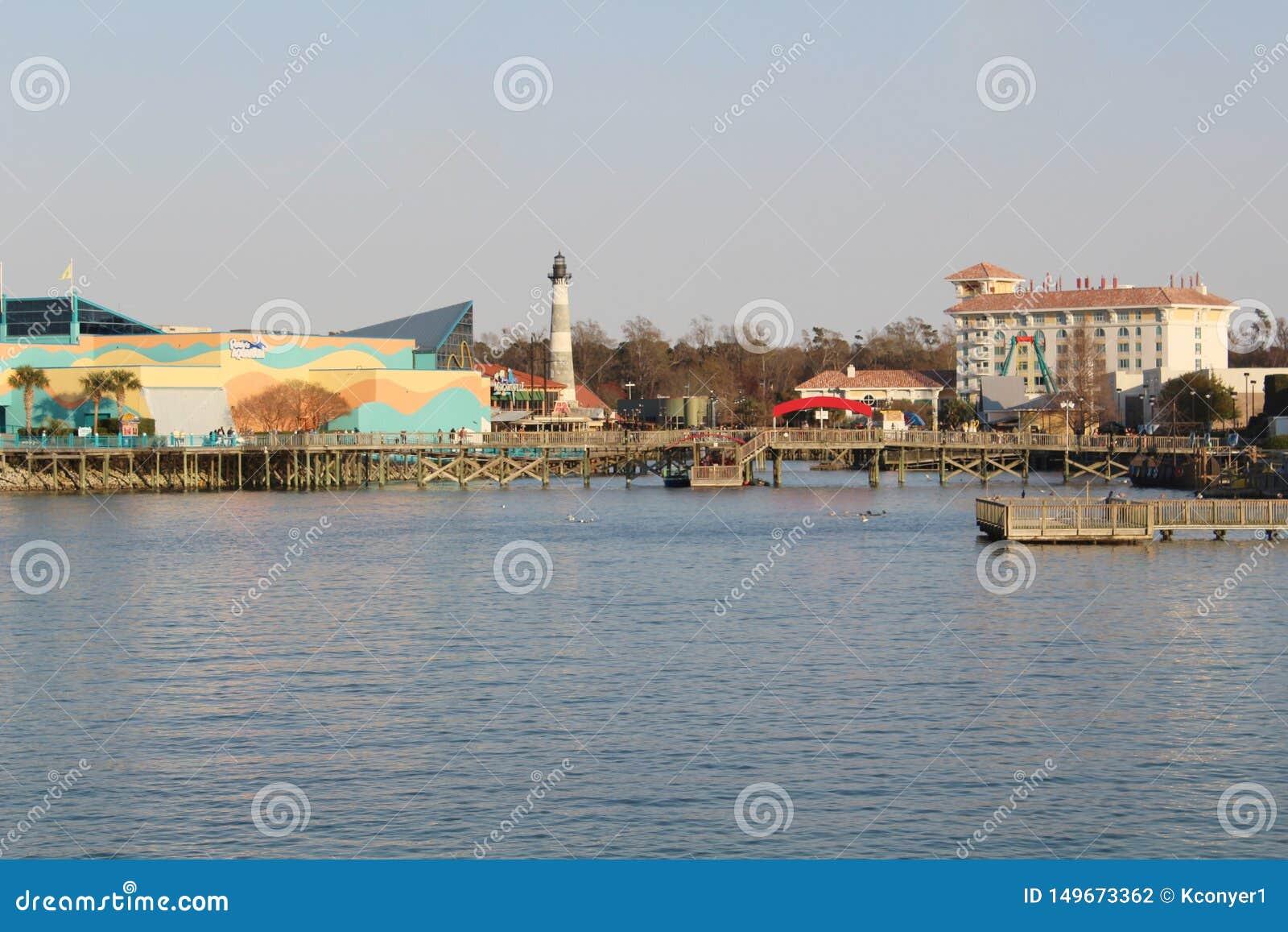 Het Aquarium van Ripley bij de pijler in Myrtle Beach