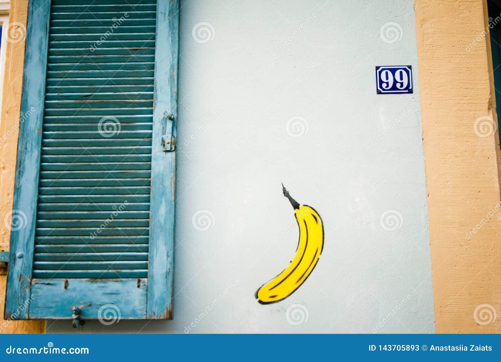 Het art Kleurrijke graffiti op de muur Fragment voor achtergrond