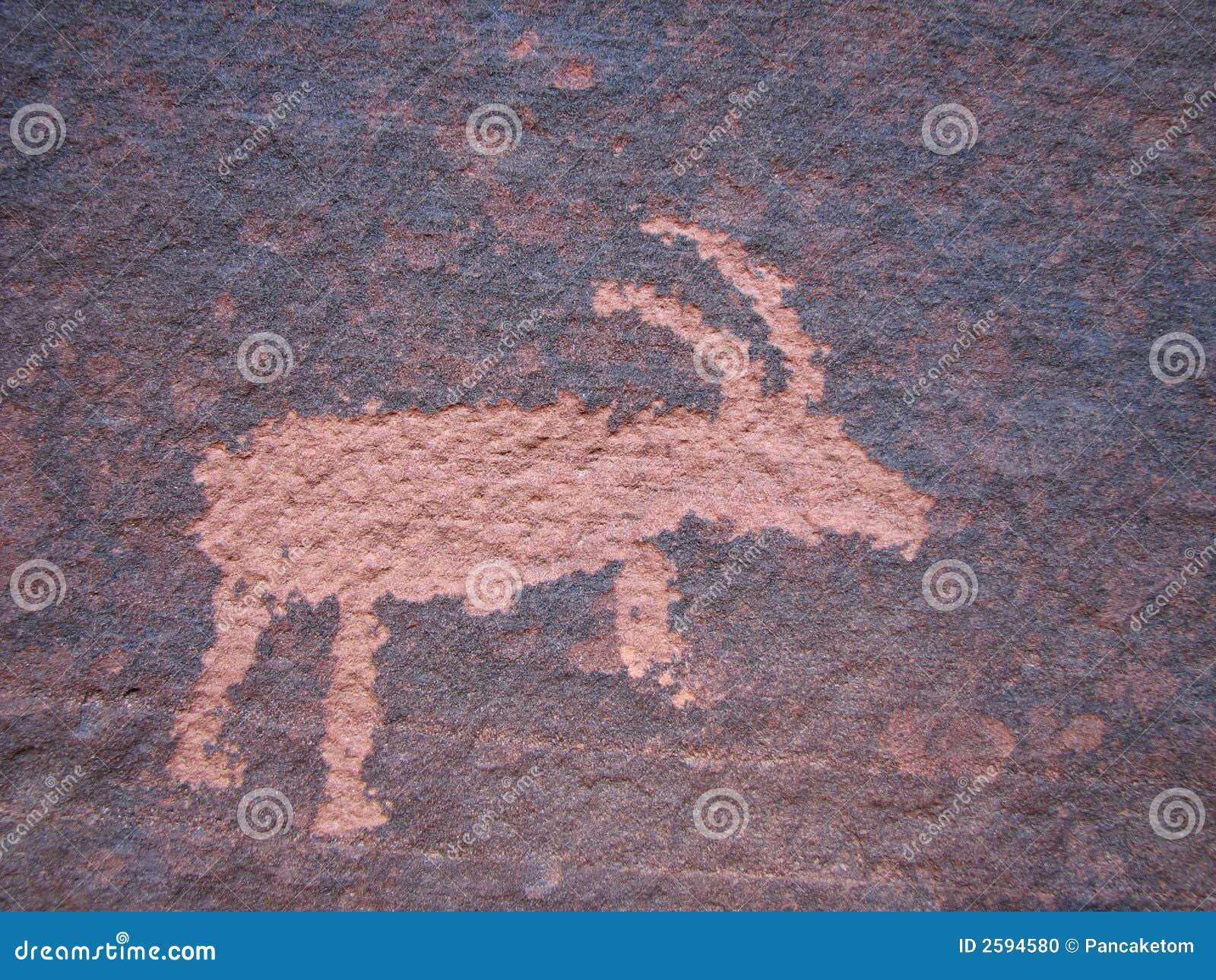 Het art. van de de schapenrots van Bighorn