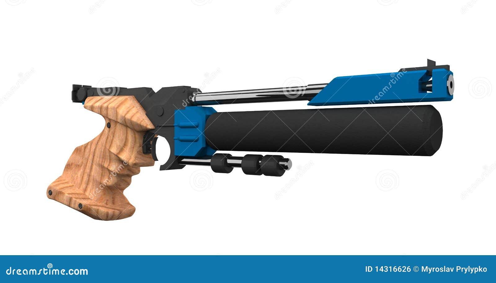 Het atletische kanon van de Lucht