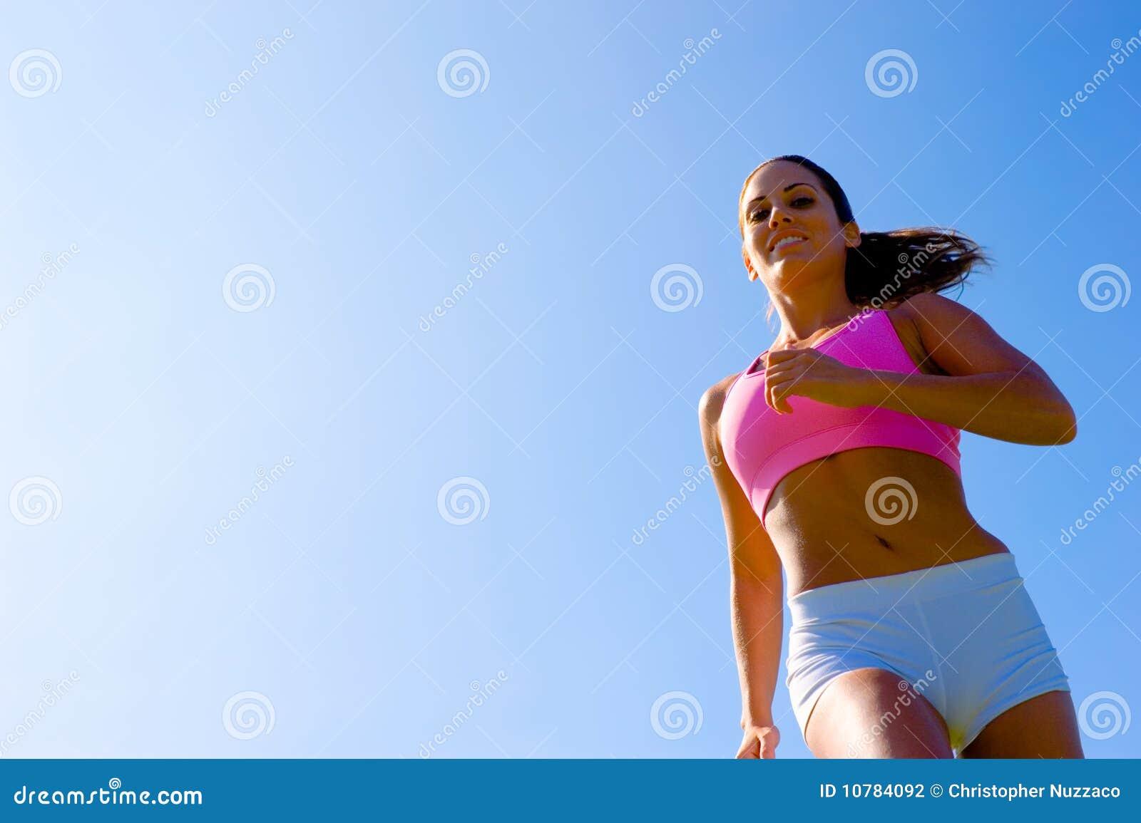 Het atletische Uitoefenen van de Vrouw