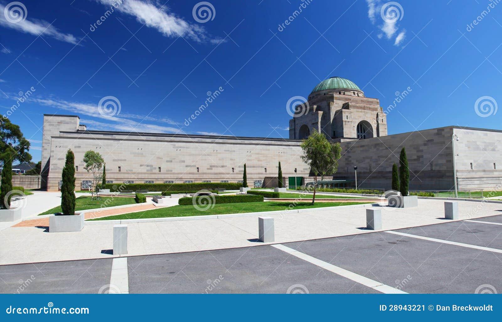Het Australische Gedenkteken van de Oorlog in Canberra