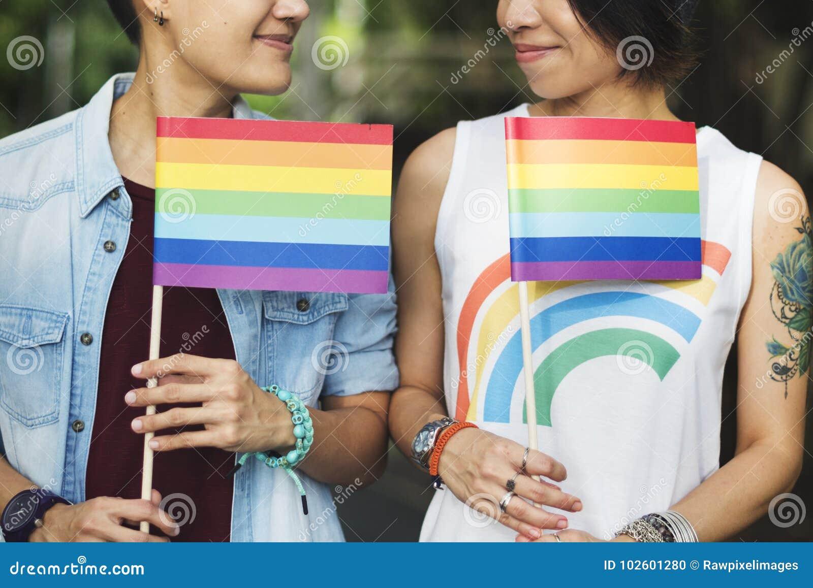 zwart op Aziatische lesbiennes