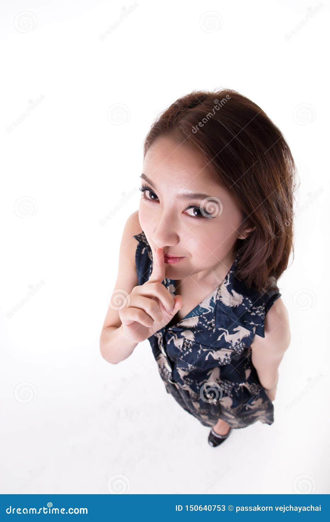 Het Aziatische Thaise portret woman
