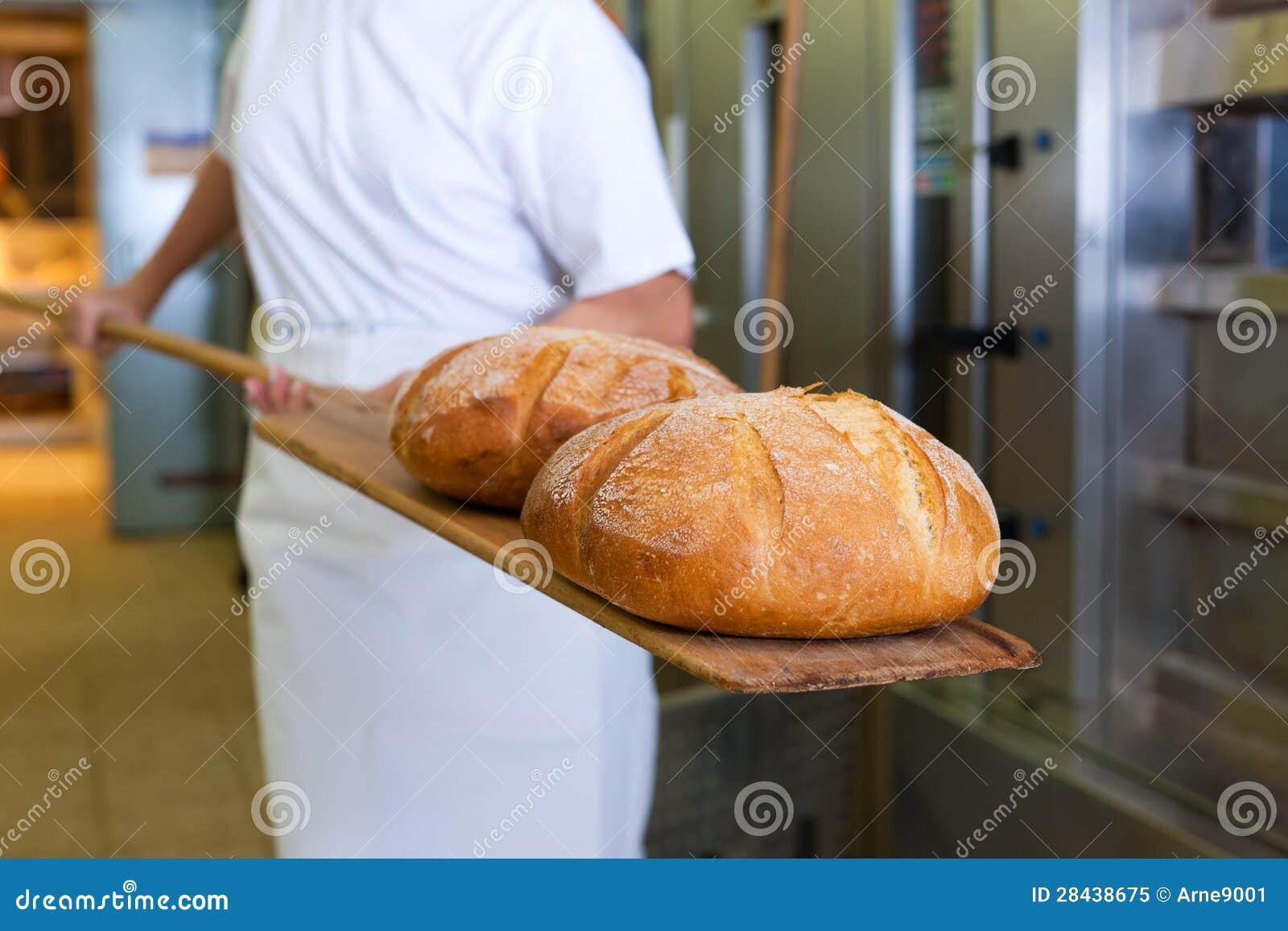 Het bakselbrood dat van Baker het product toont