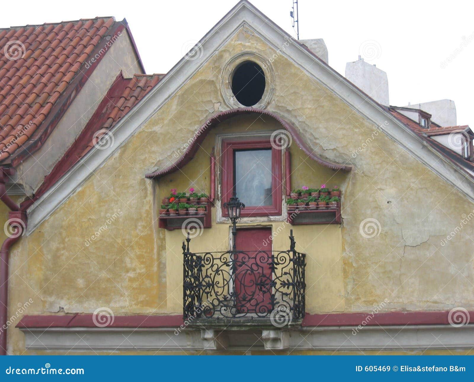Het Balkon van Praag