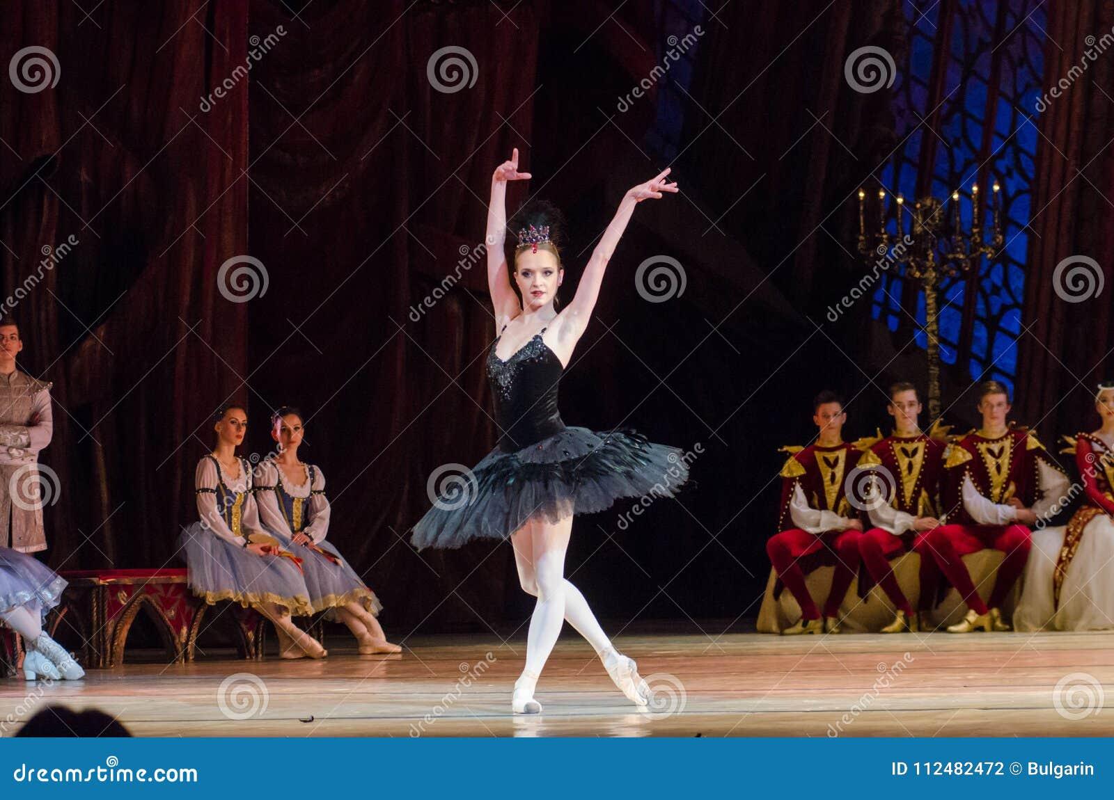 Het ballet van het Meer van de zwaan