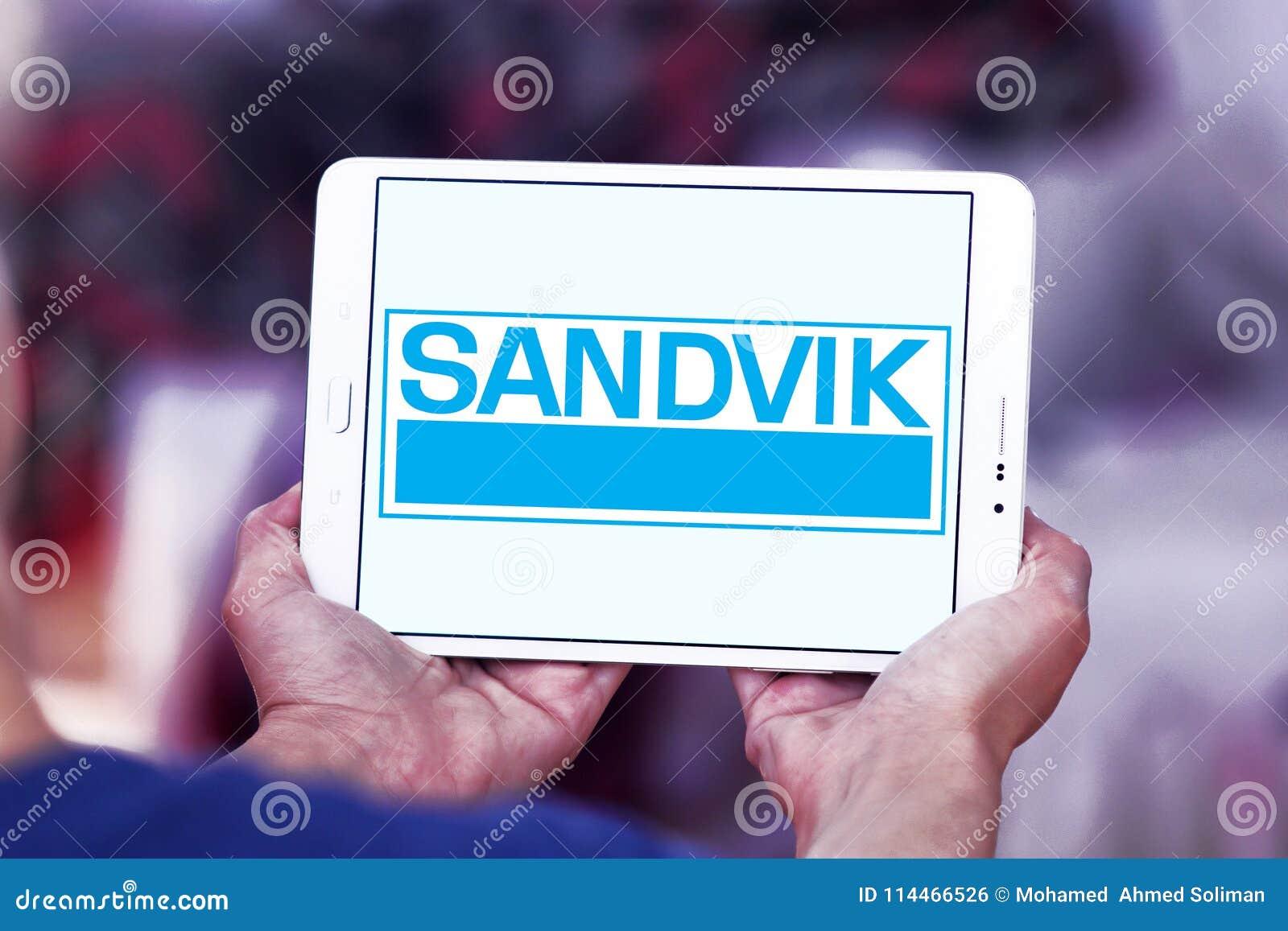 Het bedrijfembleem van de Sandviktechniek