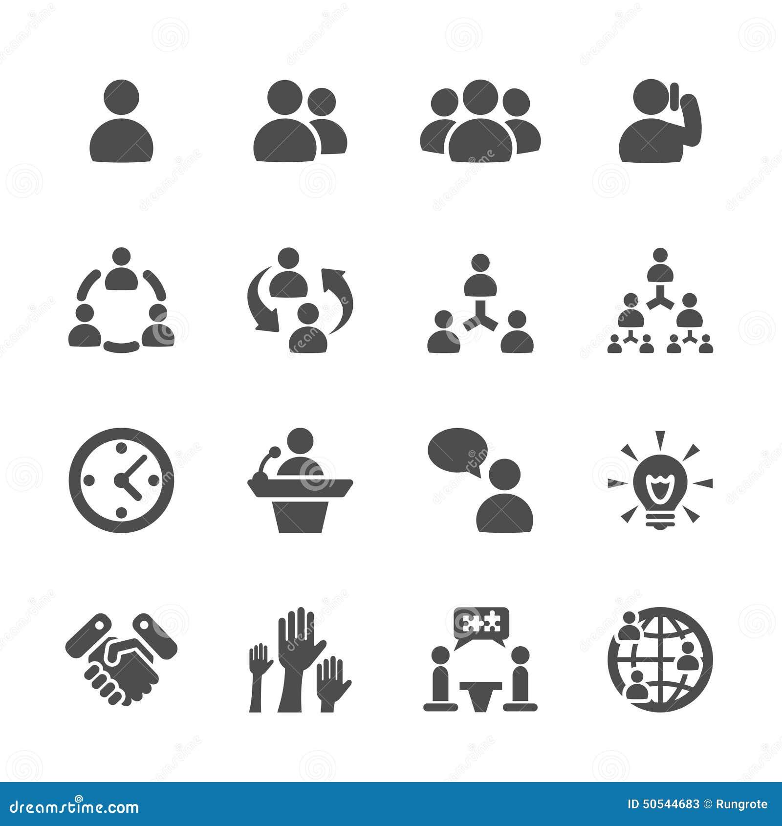 Het bedrijfs en beheerspictogram plaatste 7, vectoreps10