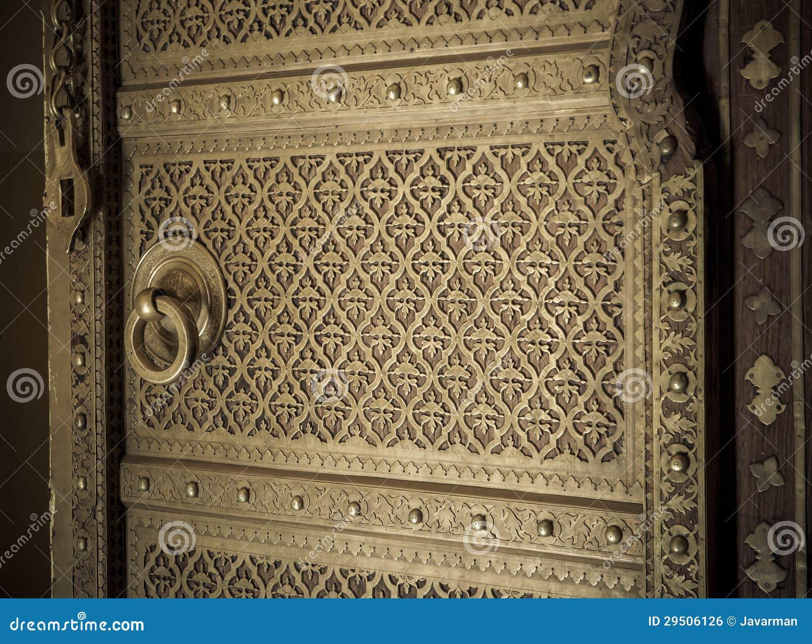Het beeld van het close-up van oude deuren